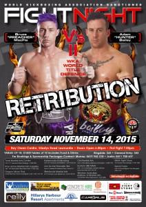 WKA Nov 14 2015 Fight Night Poster