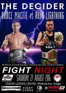 Fight Night 27 Aug