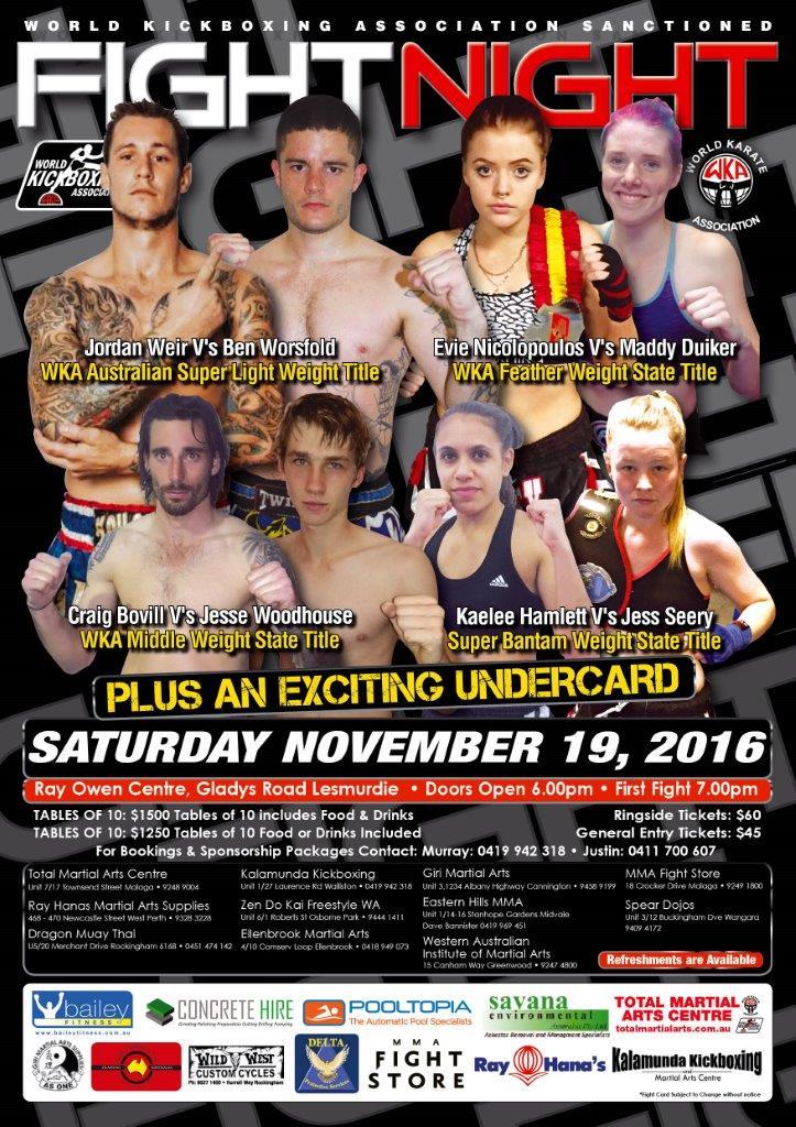 Fight Show November 2016